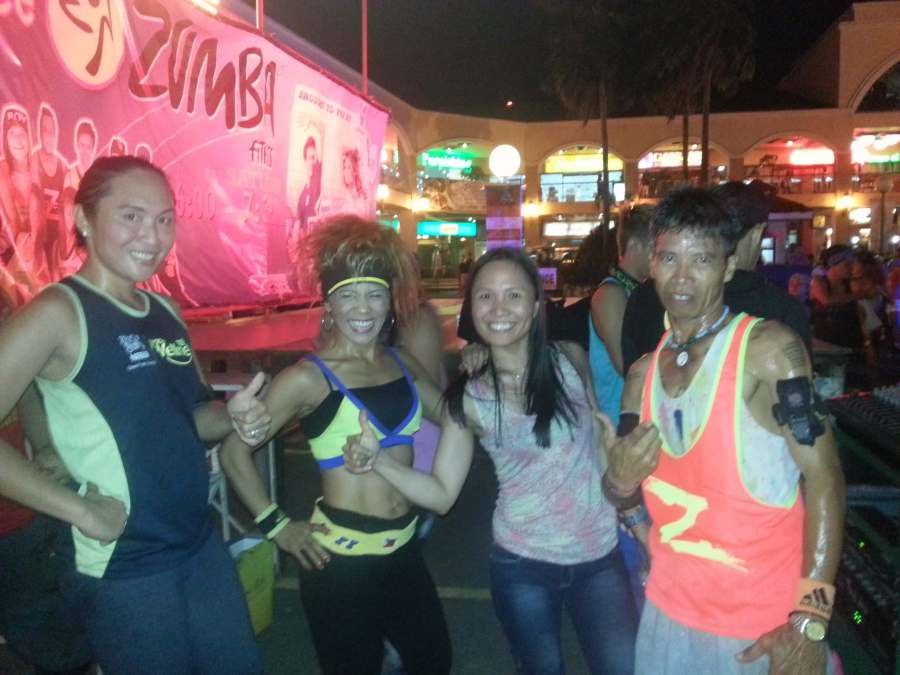 Z Force zumba cebu emma satchell