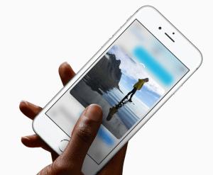 iPhone6s3Dタッチ