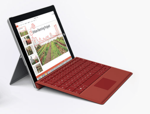 Surface3wi-fiモデル