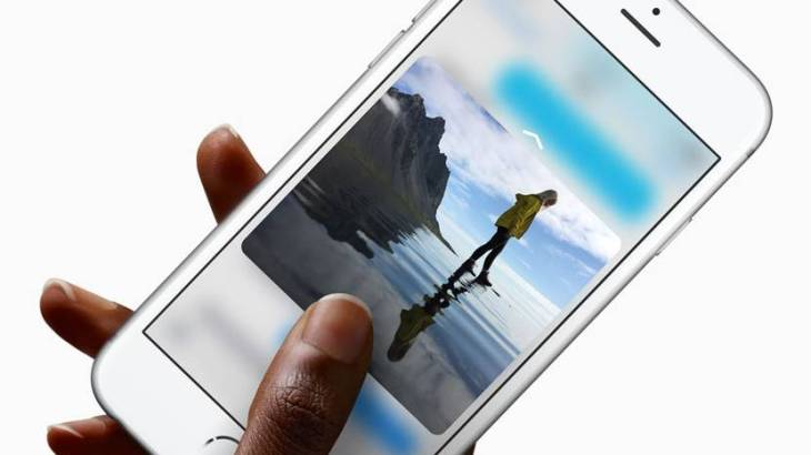 iPhone6s3DTouch(3Dタッチ)機能