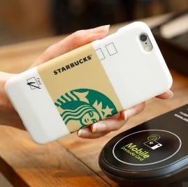 スターバックスタッチ!iPhone6/6sお財布携帯型ケース