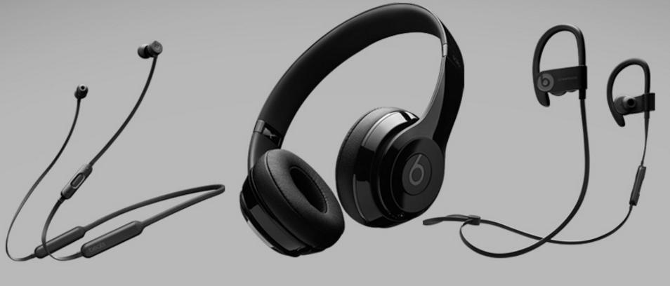 Beatsのワイヤレスヘッドフォン・イヤホン3モデル
