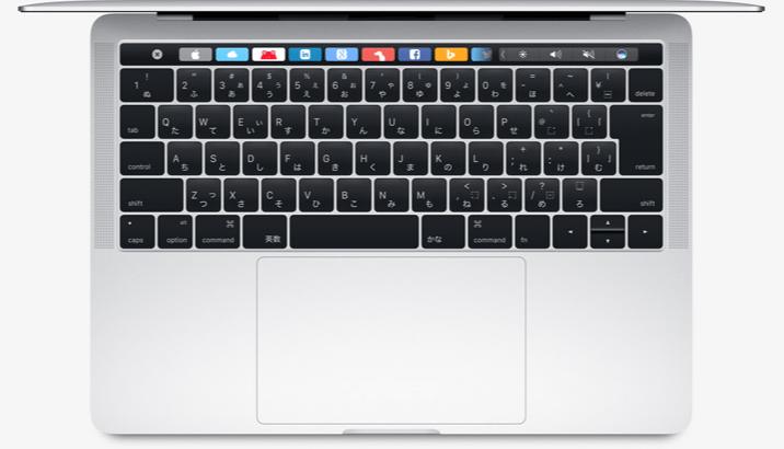 新MacBookPro13インチのみ帯域幅制限か!?