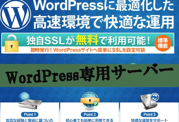 おすすめワードプレス高速専用サーバー【wpXレンタルサーバー】