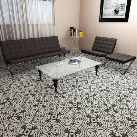 twenties ceramic f w tile design