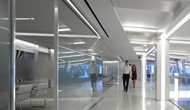Iluminacin LED de oficina luz para oficinas  Zumtobel