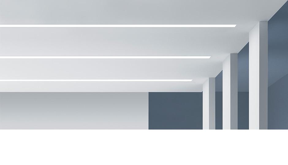 led lichtband slotlight infinity slim