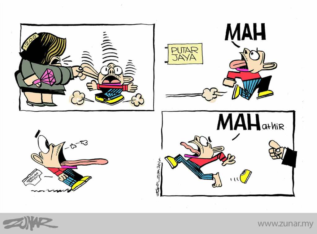 Cartoonkini-MAH-MAHATHIR-23-Jan-2018