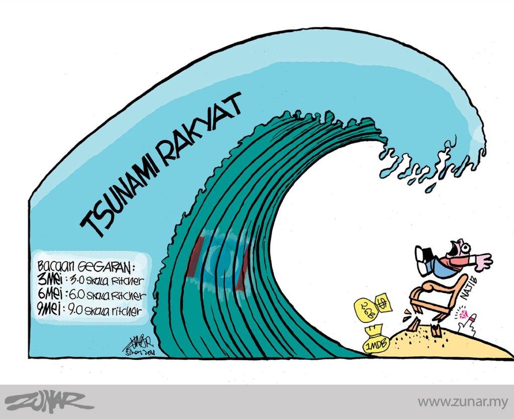 Cartoonkini-Tsunami-Rakyat-5-May-2016