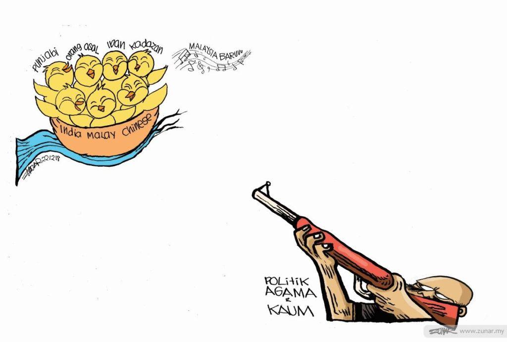 Cartoonkini Politik Agama