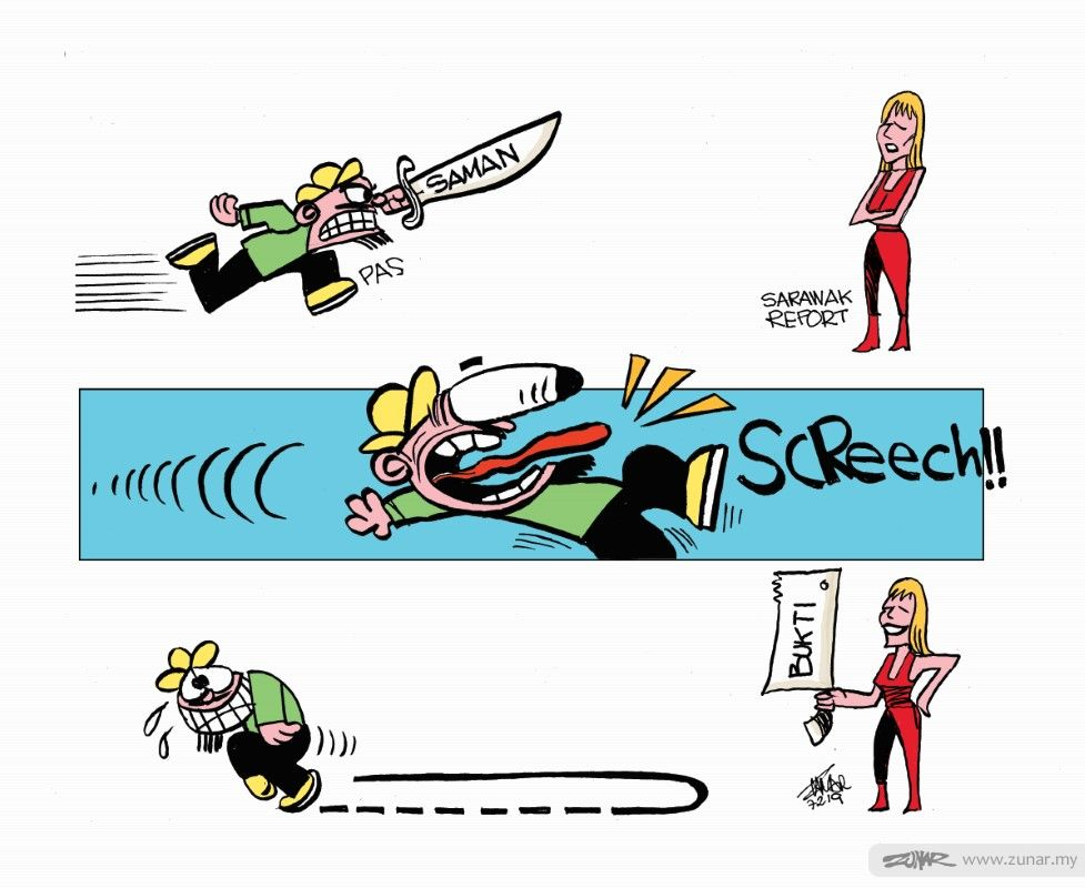 Cartoonkini PAS SAMAN 7 Feb 2019