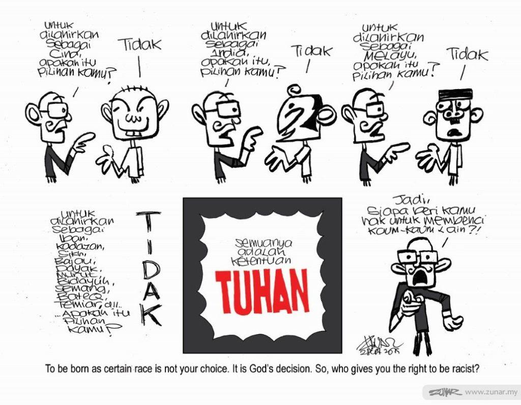 Cartoonkini Born Racist 2 Sept 2019