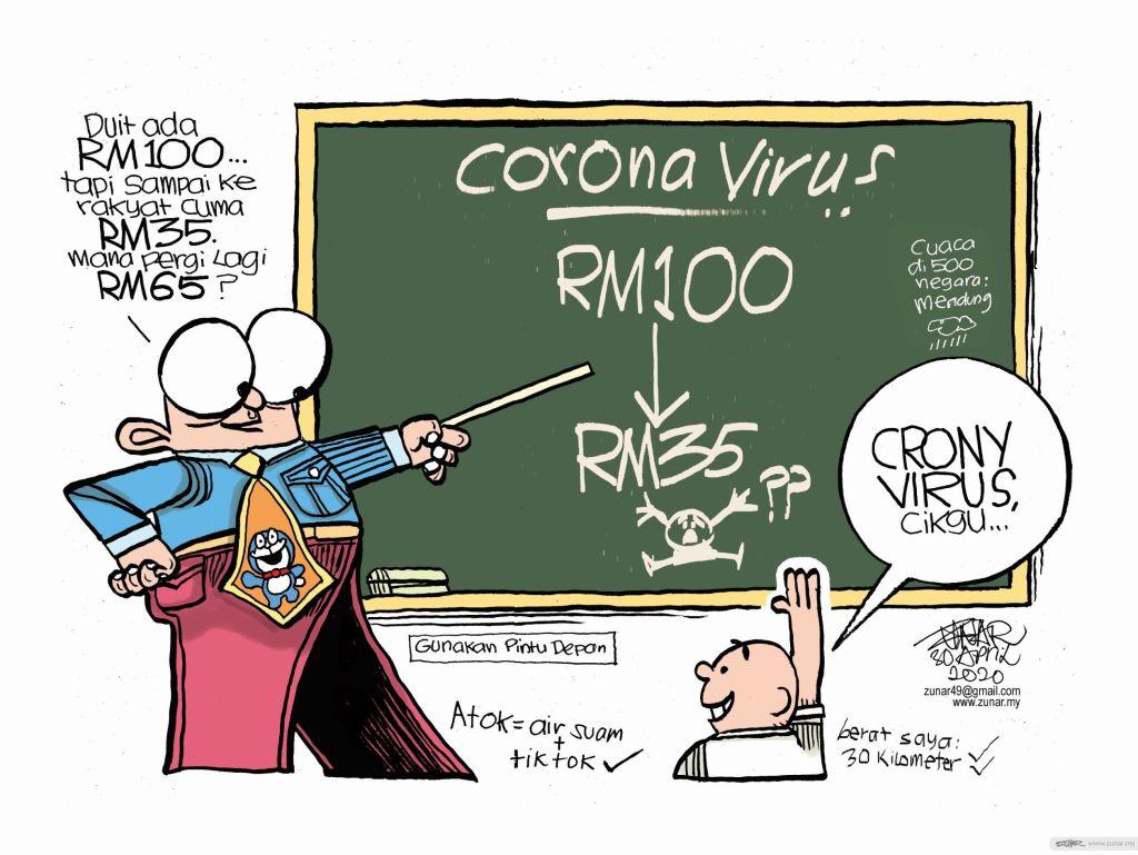 WEB Cartoonkini CRONY VIRUS 30 Apr 2020 (Custom)