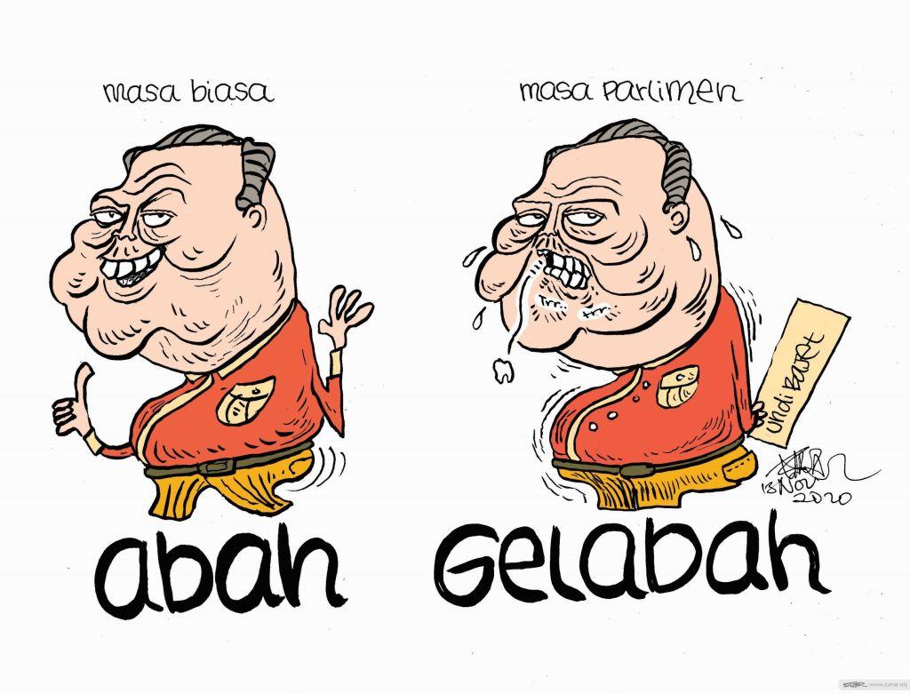 WEB Cartoonkini GELABAH 13 Nov 2020 (Custom)