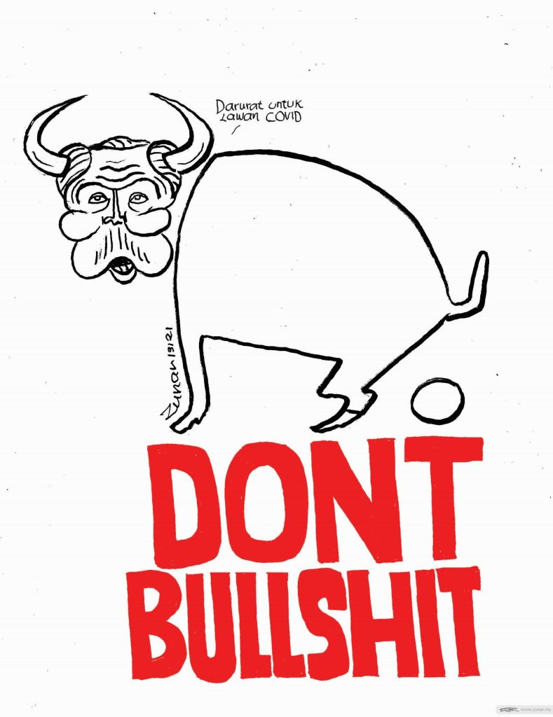 WEB Cartoonkini BULLSHIT 13 Jan 2021 (Custom)