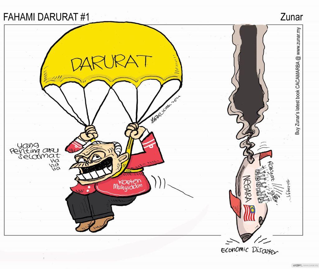 WEB Cartoonkini FAHAMI DARURAT 15 Jan 2021 (Custom)