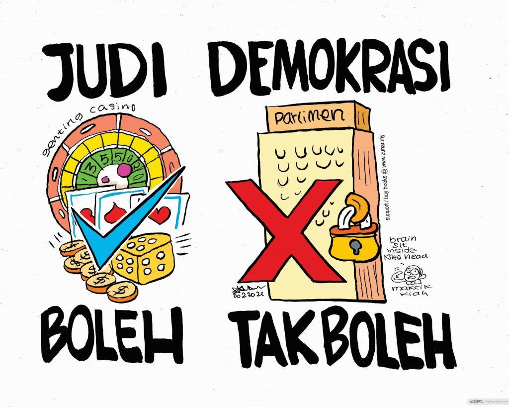 WEB Cartoonkini JUDI BOLEH 16 Feb 2021 (Custom)
