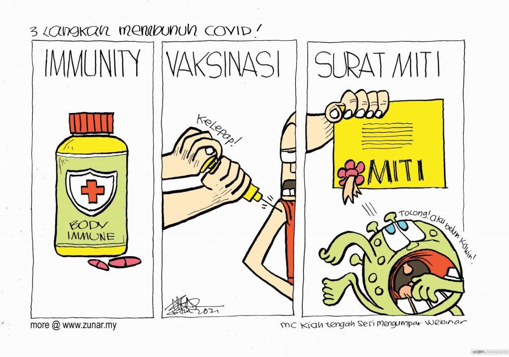WEB Cartoonkini MEMBUNUH COVID 4 Jun 2021 (Custom)