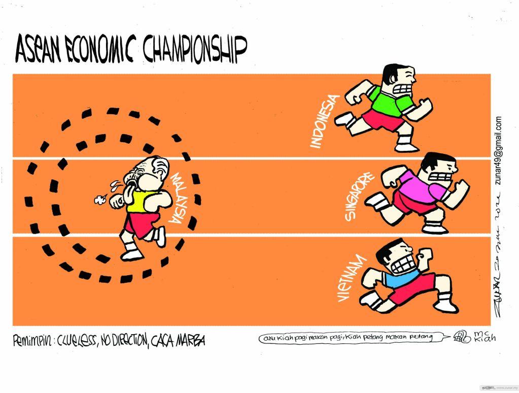 Cartoonkini Economic 30 July 2021