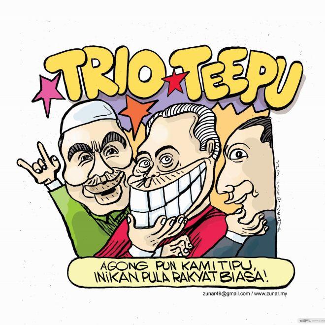 WEB Cartoonkini TRIO TEEPU 30 July 2021 (Custom)
