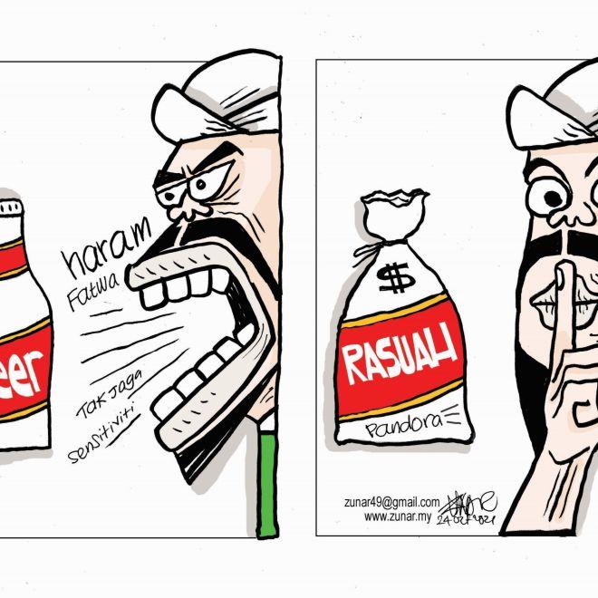 WEB Cartoonkini RASUAH BISU 24 Oct 2021 (Custom)
