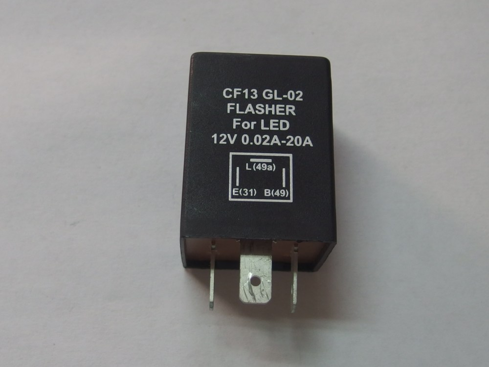 medium resolution of led flasher relay