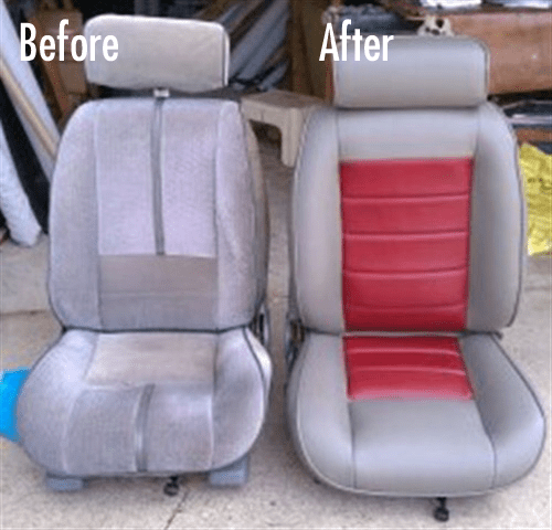 Reupholster Car Seats