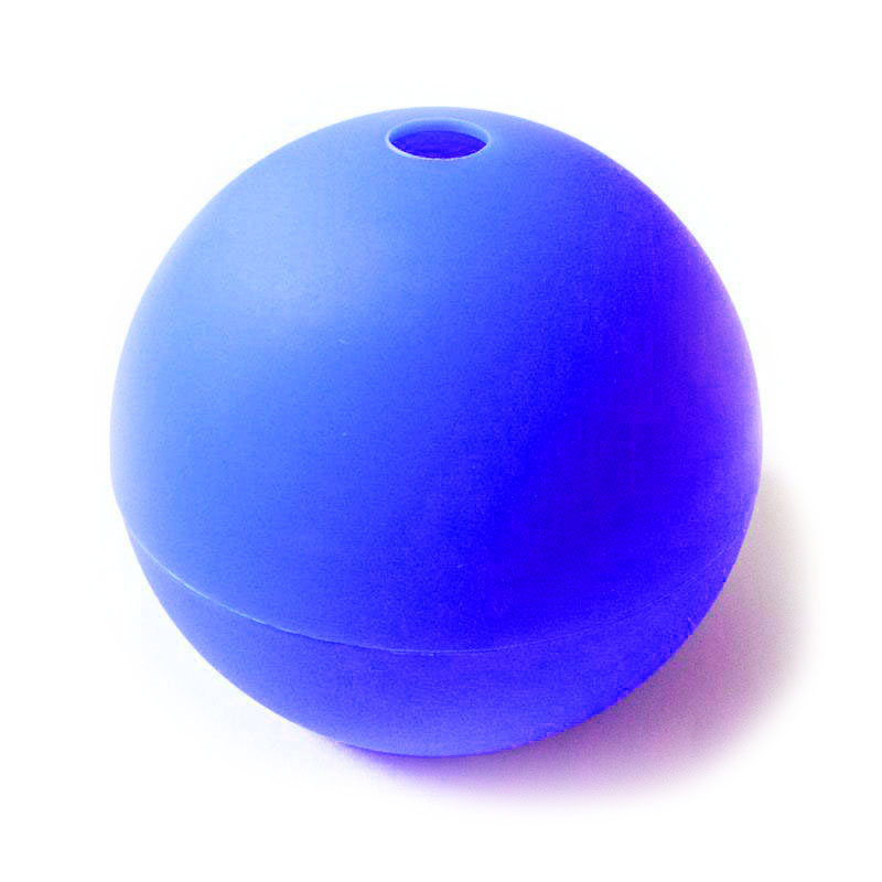 moule boule bleu fonce