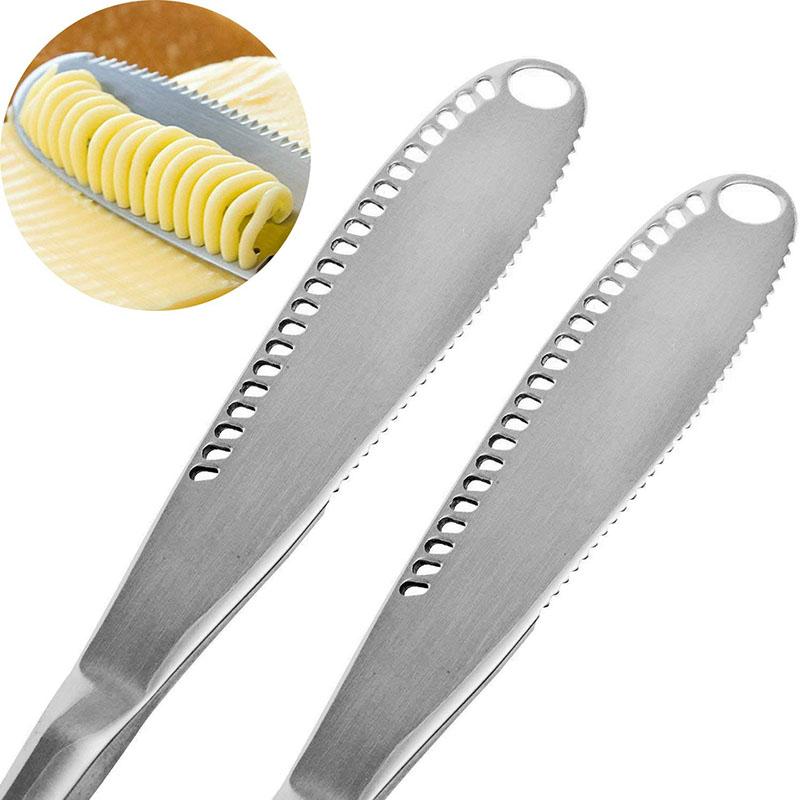couteau a beurre multifonction 3 en 1 inox
