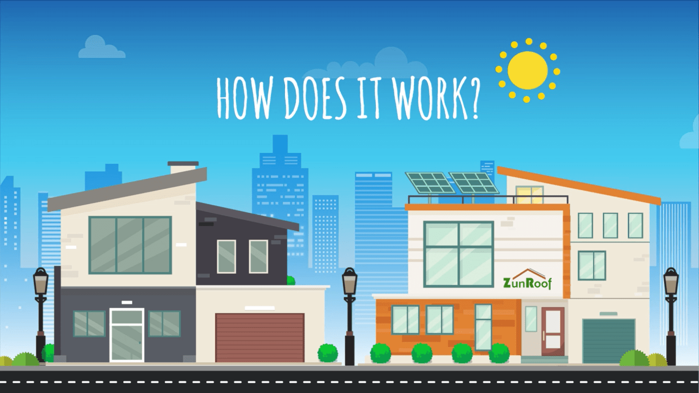 How Does It Work Roof Top Solar Energy Saves Energy