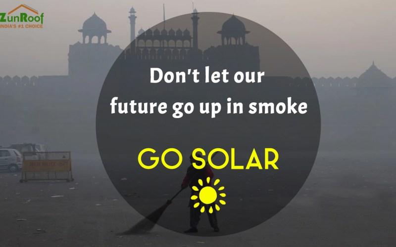 Solar, air pollution, Delhi-NCR,PM 2.5