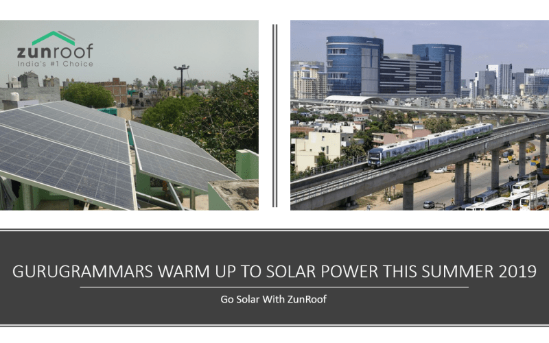 Gurugrammars Warm Up To Solar Power This Summer 2019