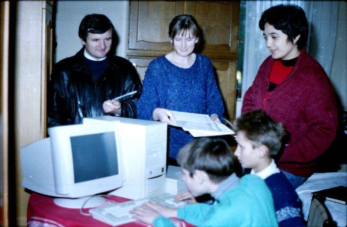 Prvi župni kompjutor