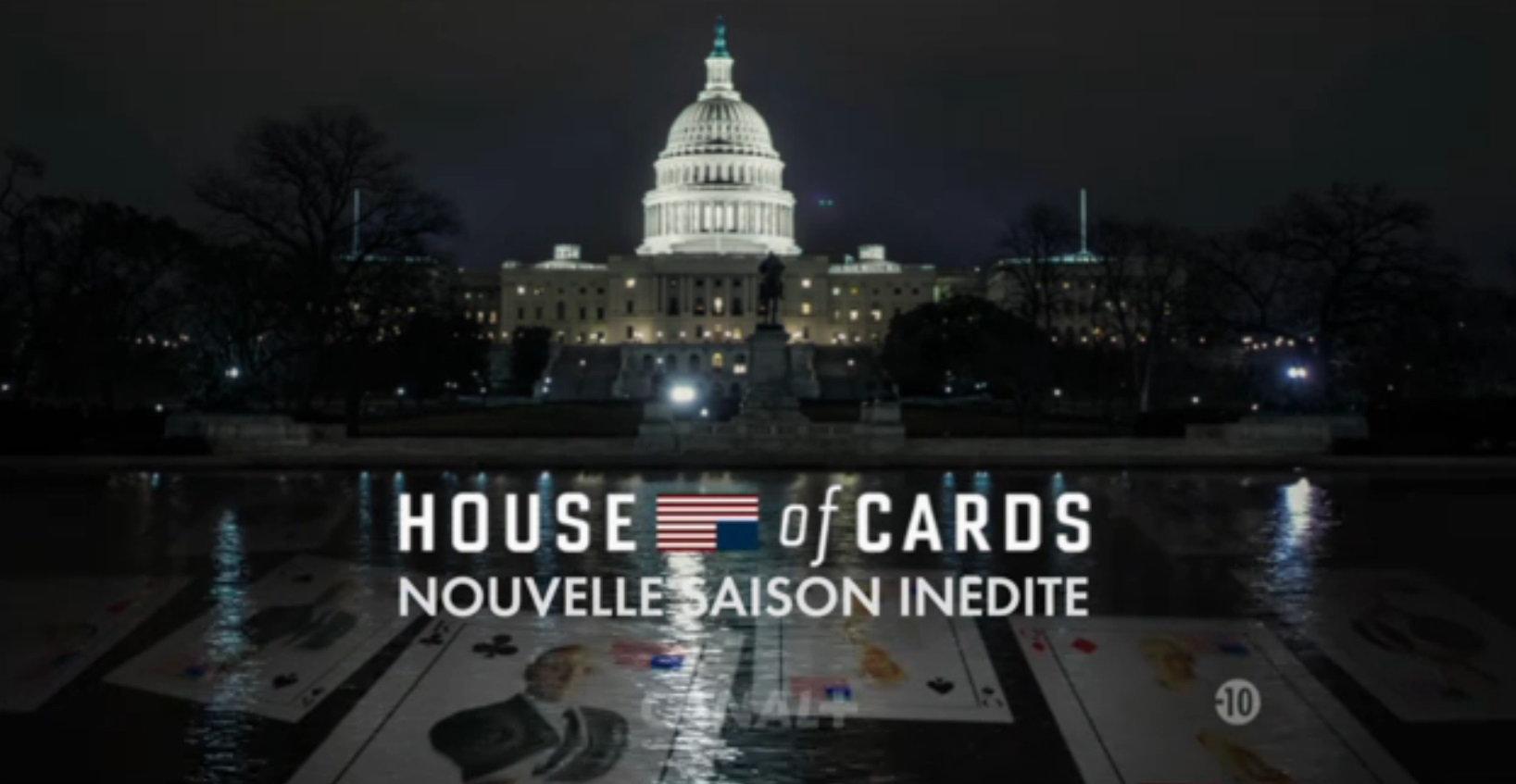 House of cards saison 3 ce soir sur canal les accros for Hotel disponible ce soir