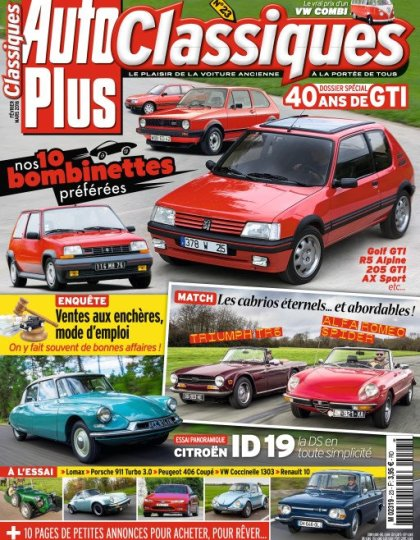 Auto Plus Classiques N°23 - Février 2016