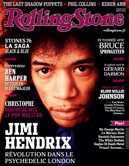 Rolling Stone N°83 - Avril 2016