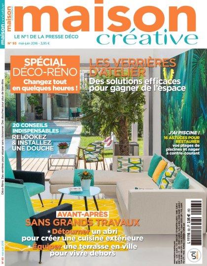 Maison Créative N°93 - Mai/Juin 2016