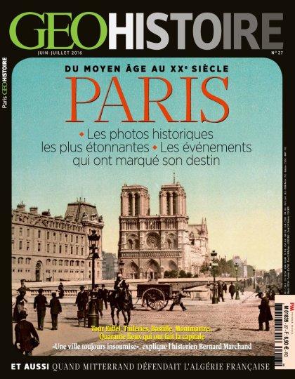 Geo Histoire N°27 - Juin/Juillet 2016