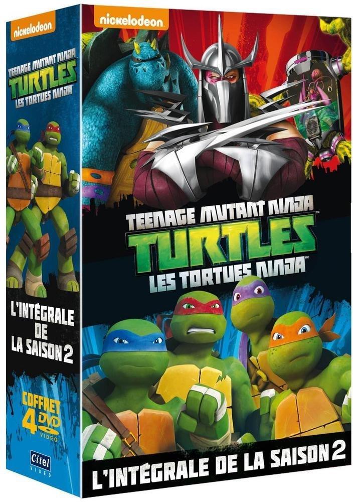 Les tortues ninja saisons 1 et 2 test dvd les accros aux s ries - Le nom des tortue ninja ...