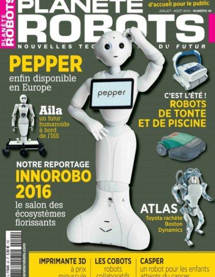 Planète Robots n°40 - Juillet-Août 2016