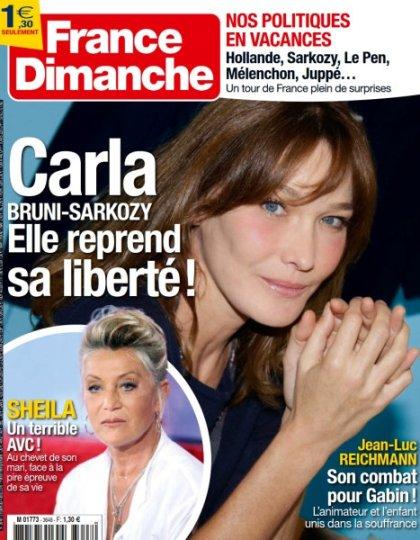 France Dimanche N°3648 - 29 Juillet au 4 Août 2016