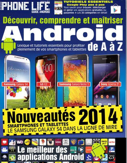 Phone Life Guide Android Hors-Série N°12 Automne 2013