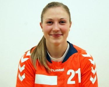 Veronika Leški med tremi najboljšimi rokometašicami sezone