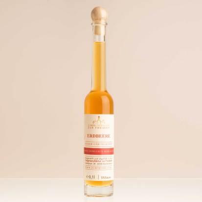 Erdbeeressig, Flasche 0,1 L