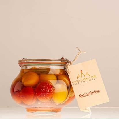 Paradiesäpfelchen In Tomatenessig, Glas 510 Ml