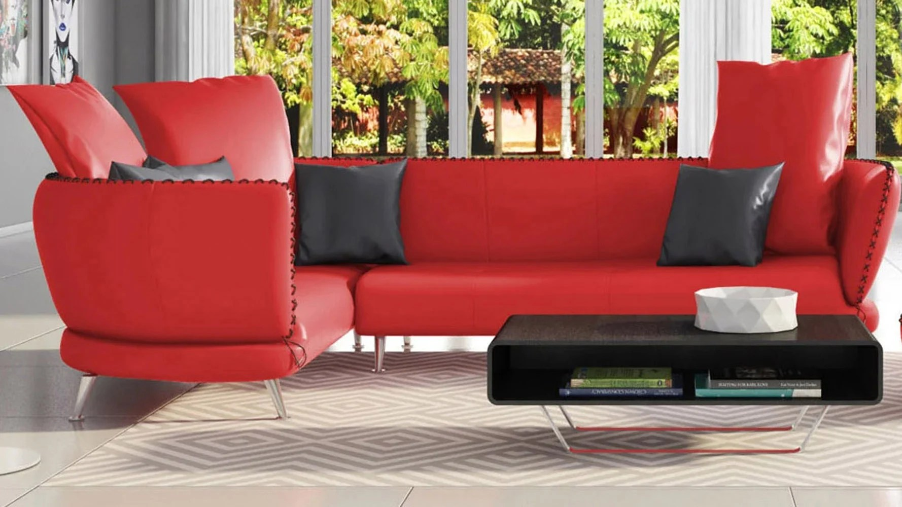 vitali sectional red