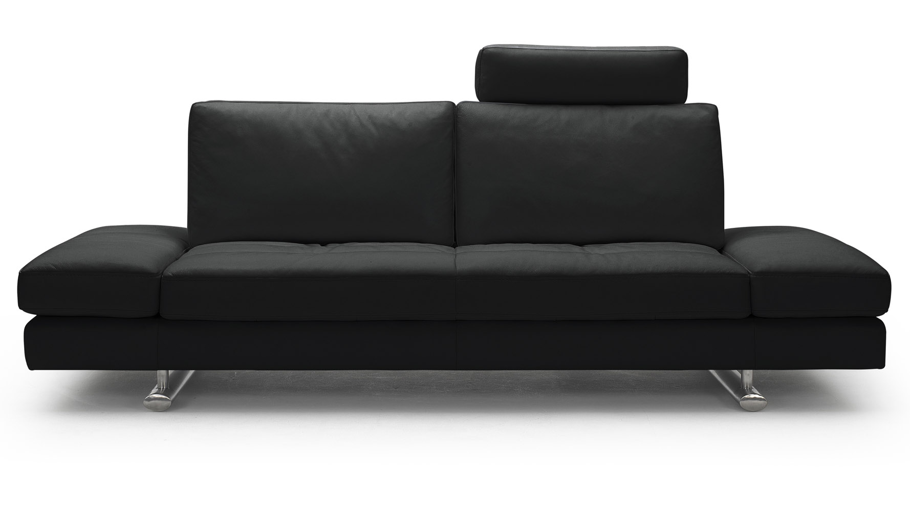 bentley recliner sofa loveseat and armchair set mexican black top grain leather modern with