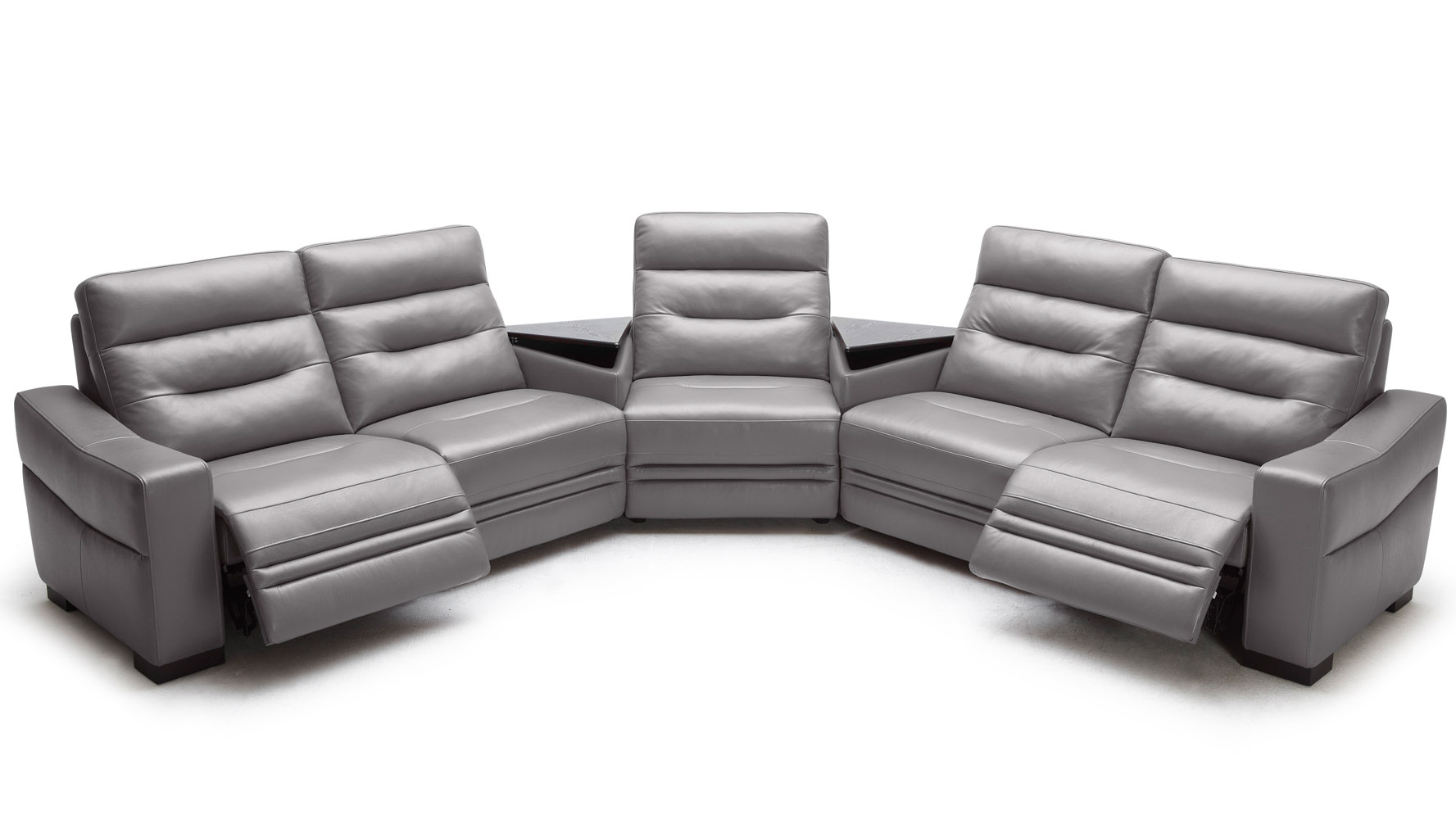 light gray leather sofa set review best sofas media recliner home the honoroak