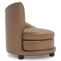 Chelsey Contemporary Comfortable Leather Lounge Chair ...