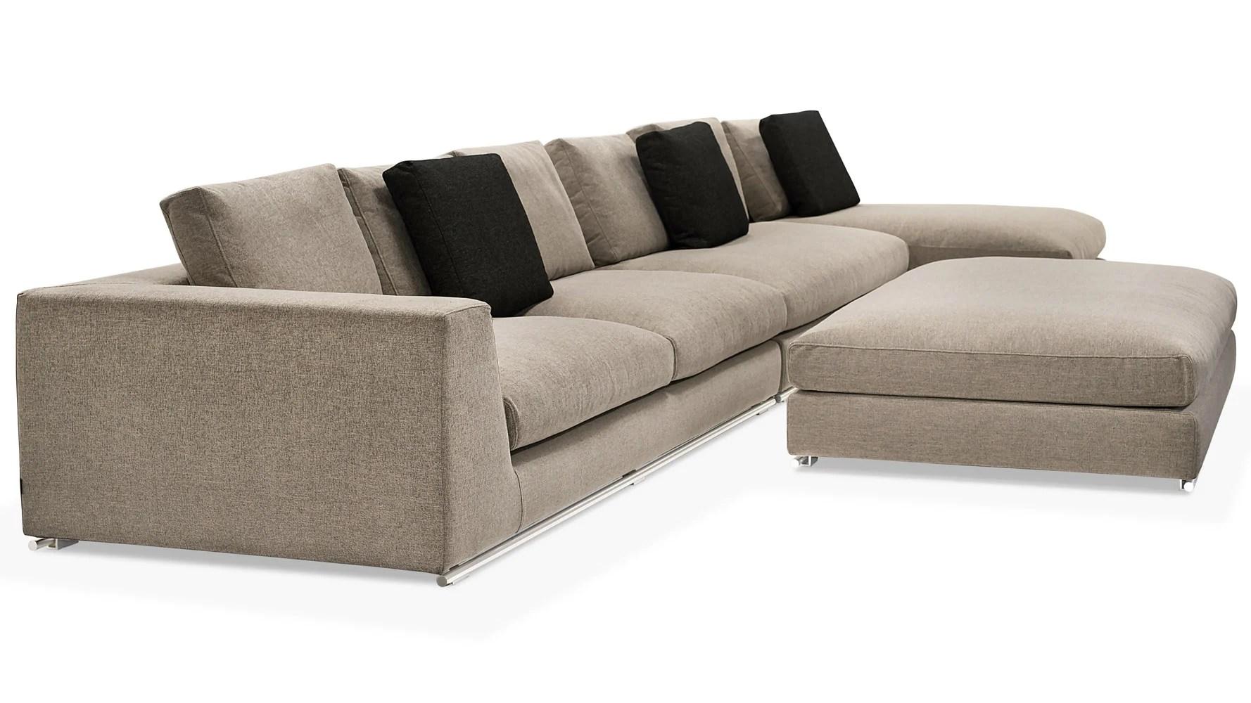 grey oversized chair with ottoman tub velvet comodo sectional sofa zuri furniture